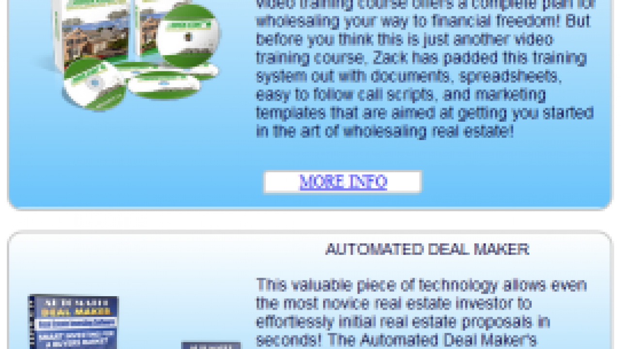 Zack Childress Co-Wholesaling Software Review